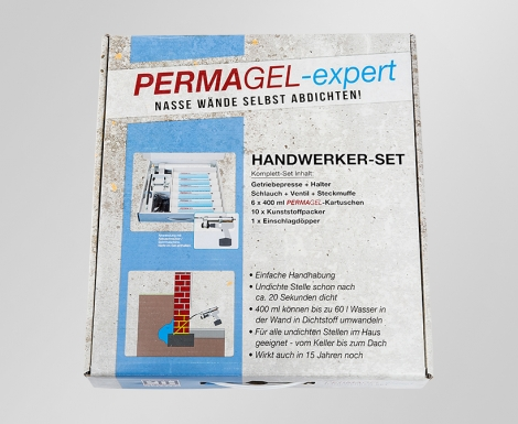 permagel handwerker set permagel nasse w nde und. Black Bedroom Furniture Sets. Home Design Ideas